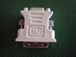 DVI M TO VGA F ADAPTER镀镍